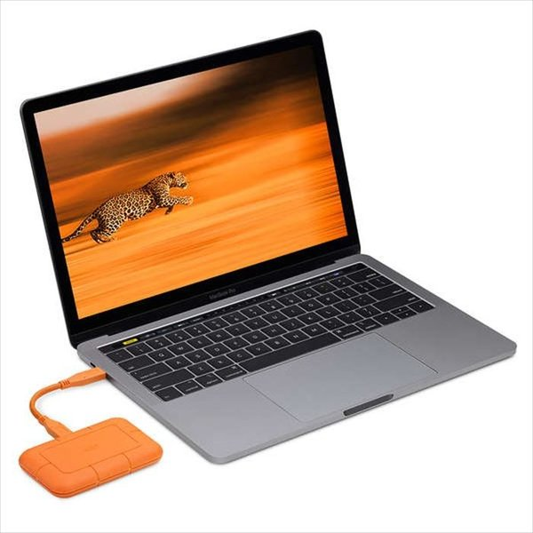 代引不可 LaCie Rugged SSD 500GB USB3.1 950MB/s 映像 超高速転送 防水 防塵 耐衝撃 エレコム STHR500800|konan|03