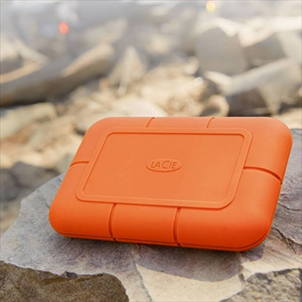 代引不可 LaCie Rugged SSD 500GB USB3.1 950MB/s 映像 超高速転送 防水 防塵 耐衝撃 エレコム STHR500800|konan|07