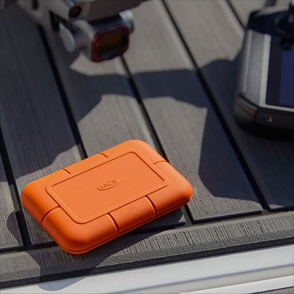 代引不可 LaCie Rugged SSD 500GB USB3.1 950MB/s 映像 超高速転送 防水 防塵 耐衝撃 エレコム STHR500800|konan|08