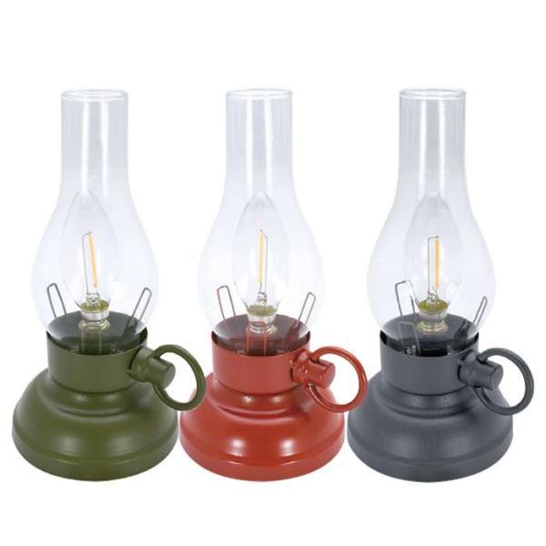 ランタン ライト LEDフィラメントライト ランプ 電池式 置き型 LEDライト 防災 アウトドア キャンプ インテリア おしゃれ|konan
