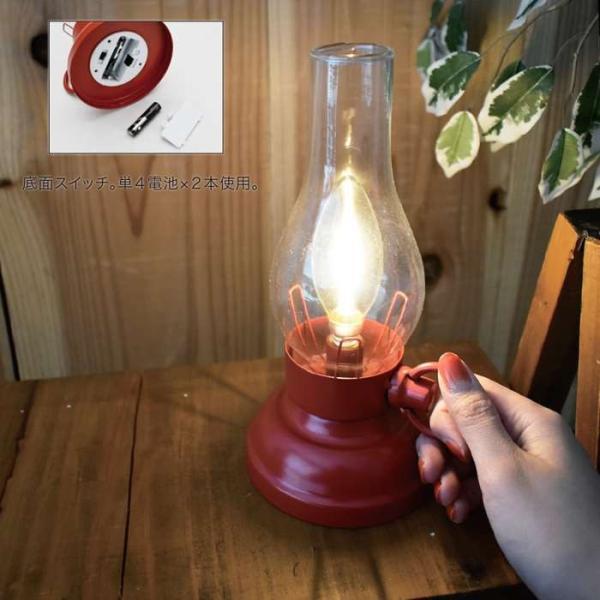 ランタン ライト LEDフィラメントライト ランプ 電池式 置き型 LEDライト 防災 アウトドア キャンプ インテリア おしゃれ|konan|02