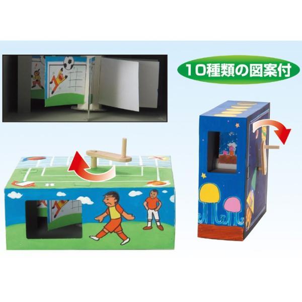 アニメーションボックス 簡単組立! 図工 工作 手作り 夏休み 宿題 課題 創作 意欲 楽しい 勉強 学習 アーテック 830|konan