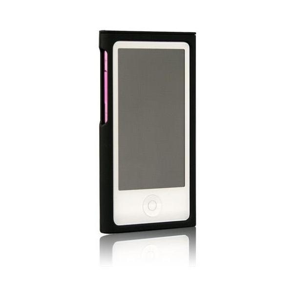 ブライトンネット Rubber + Silicon Case Set for iPod nano 2012iPod nano 2012用 ラバー+シリコンケースセット BI-7NRCASE/BK
