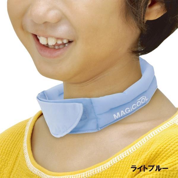 冷感持続 抗菌防臭 マジクール ネッククーラー Kids キッズ こども用 子供用 首もと ひんやり 熱中症対策 暑さ対策 MAGICOOL 大作商事 MCFT|konan|09