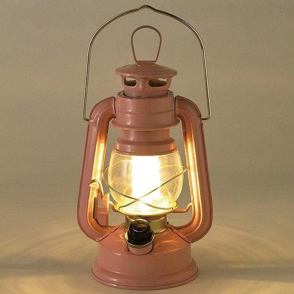 ランタン LED レトロ アウトドア キャンプ LEDランタン PINK ピンク 調光 ライト 電池式 灯り 吊り下げ 置き型 照明 バーベキュー 災害時 緊急時|konan|02