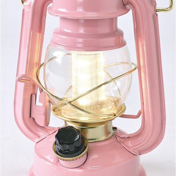 ランタン LED レトロ アウトドア キャンプ LEDランタン PINK ピンク 調光 ライト 電池式 灯り 吊り下げ 置き型 照明 バーベキュー 災害時 緊急時|konan|07