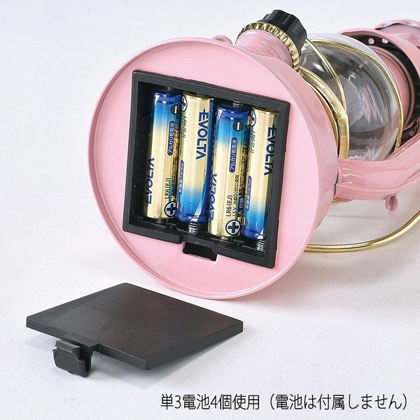 ランタン LED レトロ アウトドア キャンプ LEDランタン PINK ピンク 調光 ライト 電池式 灯り 吊り下げ 置き型 照明 バーベキュー 災害時 緊急時|konan|08