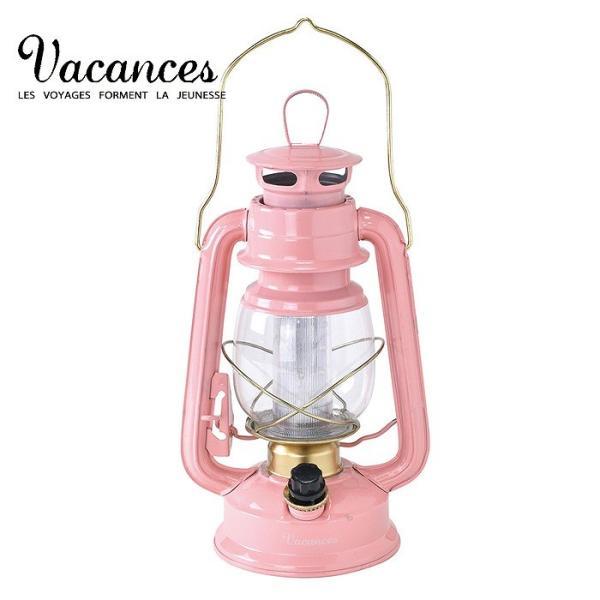 ランタン LED レトロ アウトドア キャンプ LEDランタン PINK ピンク BIG 調光 ライト 電灯 電池式 灯り 吊り下げ 置き型 照明 バーベキュー BBQ 災害時 緊急時|konan