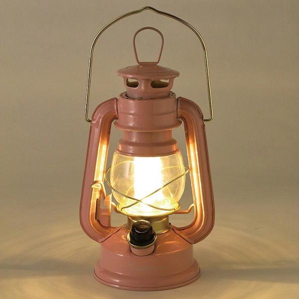 ランタン LED レトロ アウトドア キャンプ LEDランタン PINK ピンク BIG 調光 ライト 電灯 電池式 灯り 吊り下げ 置き型 照明 バーベキュー BBQ 災害時 緊急時|konan|02