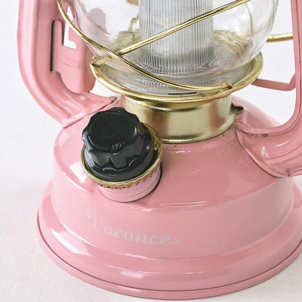 ランタン LED レトロ アウトドア キャンプ LEDランタン PINK ピンク BIG 調光 ライト 電灯 電池式 灯り 吊り下げ 置き型 照明 バーベキュー BBQ 災害時 緊急時|konan|06