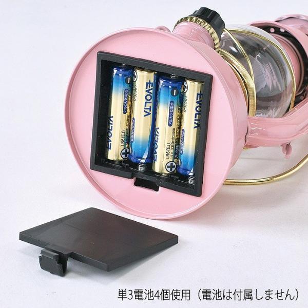 ランタン LED レトロ アウトドア キャンプ LEDランタン PINK ピンク BIG 調光 ライト 電灯 電池式 灯り 吊り下げ 置き型 照明 バーベキュー BBQ 災害時 緊急時|konan|08