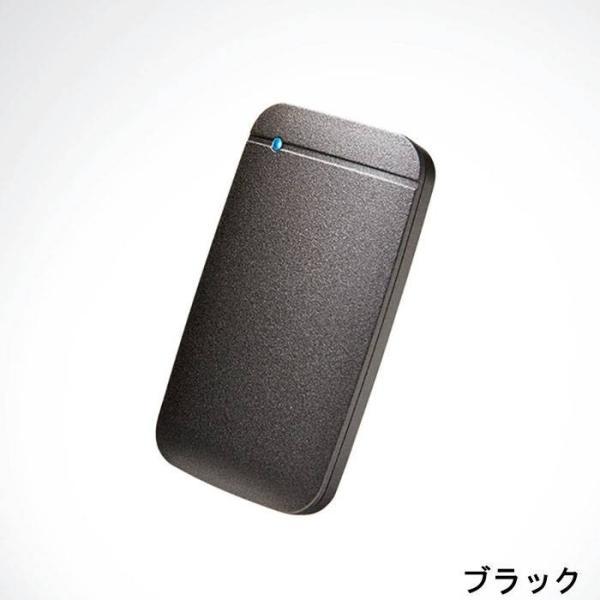 代引不可 USB Type-C 外付けポータブルSSD 250GB TLC搭載 高速データ転送 コンパクト 便利 耐振動 耐衝撃 エレコム ESD-EF0250G|konan|03