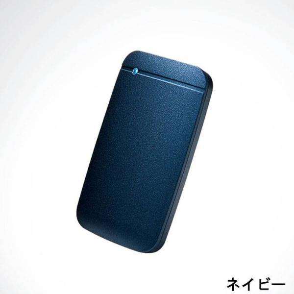 代引不可 USB Type-C 外付けポータブルSSD 250GB TLC搭載 高速データ転送 コンパクト 便利 耐振動 耐衝撃 エレコム ESD-EF0250G|konan|04