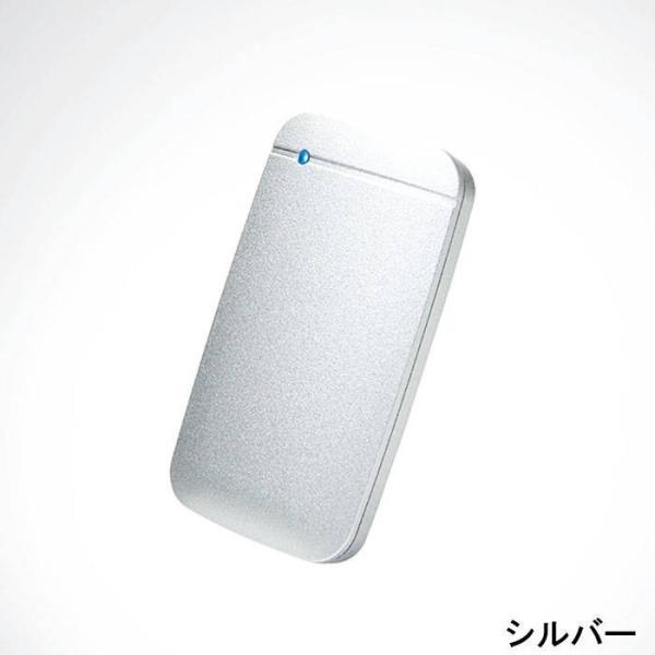 代引不可 USB Type-C 外付けポータブルSSD 250GB TLC搭載 高速データ転送 コンパクト 便利 耐振動 耐衝撃 エレコム ESD-EF0250G|konan|05
