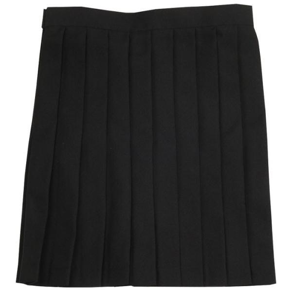 あすつく TEENS EVER 12AW スカート 無地(ブラック)Mサイズ スクールスカート スカート プリーツ 女子 レディース 高校生 中学生 かわいい 4560320846123|konan|02