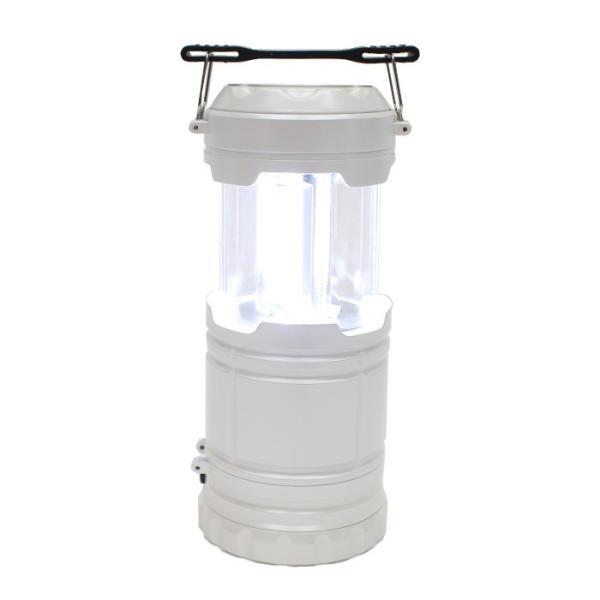 ランタン ランタンライト COB&LED 2WAY  電池式 スライドで点灯&消灯 アウトドア 防災用品 非常用 ホワイト ヒロ・コーポレーション 4562351049191|konan