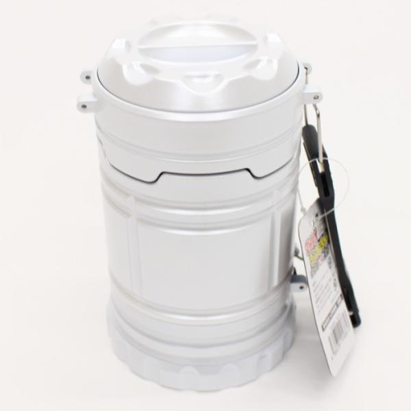 ランタン ランタンライト COB&LED 2WAY  電池式 スライドで点灯&消灯 アウトドア 防災用品 非常用 ホワイト ヒロ・コーポレーション 4562351049191|konan|03