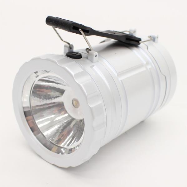 ランタン ランタンライト COB&LED 2WAY  電池式 スライドで点灯&消灯 アウトドア 防災用品 非常用 ホワイト ヒロ・コーポレーション 4562351049191|konan|05