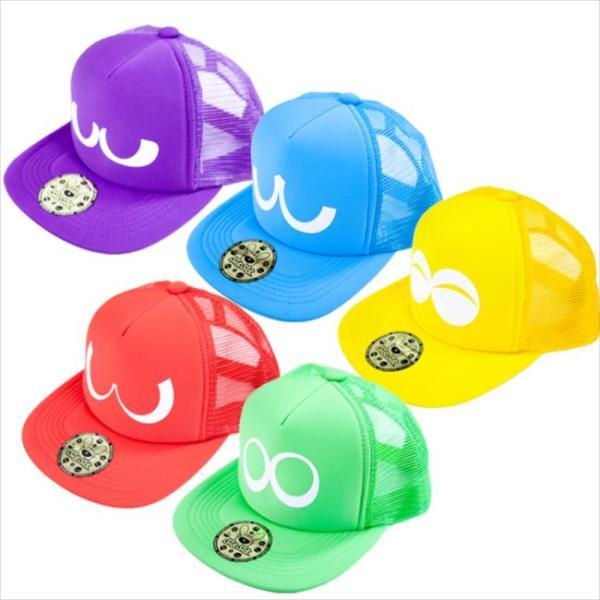 ぷよぷよメッシュキャップ キャラクター 帽子 キャップ CAP 56cm〜60cm ぷよぷよ帽子 かわいい おしゃれ 人気 ルカン 07*|konan