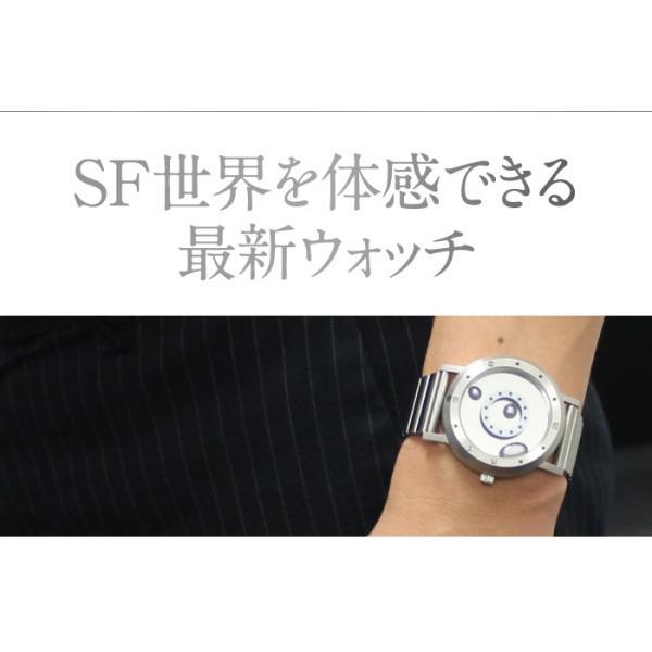 腕時計 LMW LMWatch リキッドメタルウォッチ 液体金属ウォッチ ハンドメイド EleeNo メタル シーホープ LMW-SV-**-M|konan|02