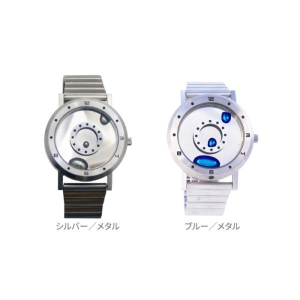 腕時計 LMW LMWatch リキッドメタルウォッチ 液体金属ウォッチ ハンドメイド EleeNo メタル シーホープ LMW-SV-**-M|konan|04