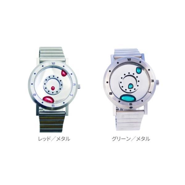 腕時計 LMW LMWatch リキッドメタルウォッチ 液体金属ウォッチ ハンドメイド EleeNo メタル シーホープ LMW-SV-**-M|konan|05