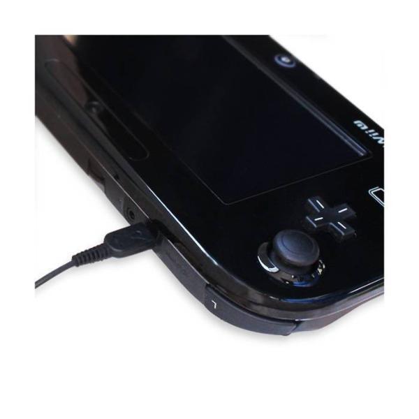 WiiU GamePad WiiUゲームパッド 家庭用コンセントから本製品でWii U Game Padを直接可能 充電ケーブル AC充電器 アローン ALG-WIUAC|konan|03