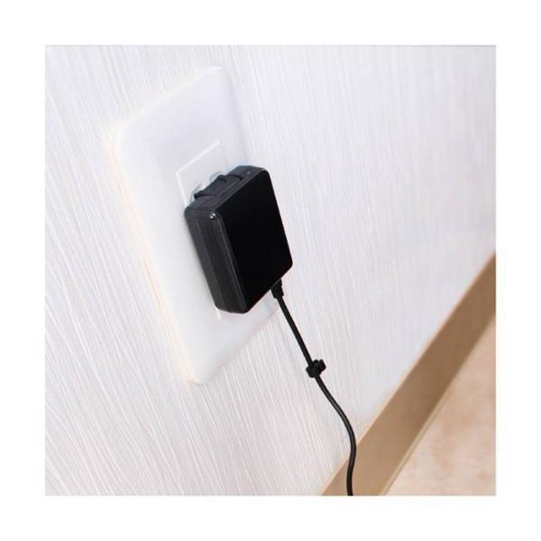 WiiU GamePad WiiUゲームパッド 家庭用コンセントから本製品でWii U Game Padを直接可能 充電ケーブル AC充電器 アローン ALG-WIUAC|konan|04