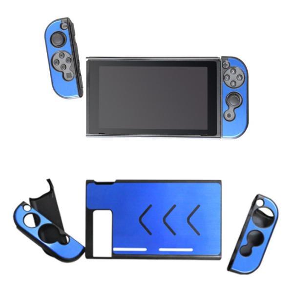 ニンテンドー スイッチ ケース Nintendo Switch 用 アルミニウムケース アローン ALG-NSAL konan 03