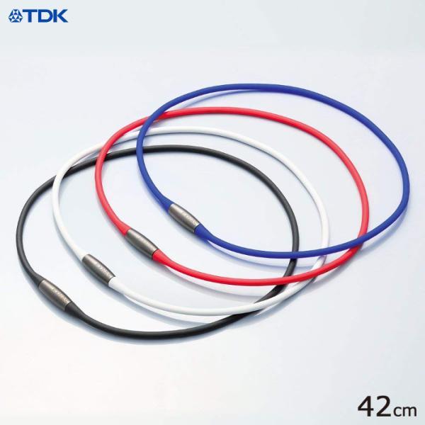磁気ネックレス EXNAS(エクナス) D1 42cm スポーツにもビジネスにも 軽い 高磁力 TDK D1A-42