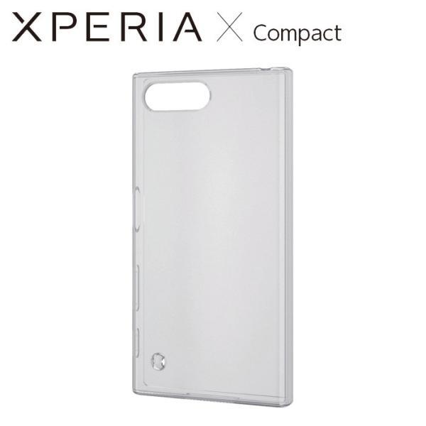 Xperia X Compact SO-02J エクスペリアxコンパクト ケース/カバー TPUソフトケース 極み クリア エレコム PM-SOXCUCTCR|konan