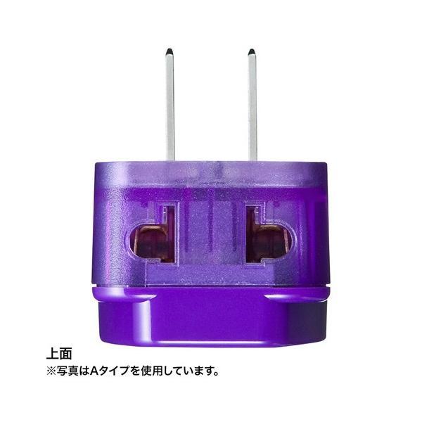 世界の特殊な電源プラグ形状に変換できる変換アダプタ Oタイプ 海外電源変換アダプタ エレプラグW-O アース付 オーストラリア・中国 サンワサプライ TR-AD16 konan 04