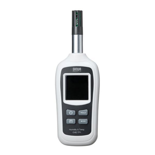 温度計 湿度計 温湿度計 デジタル 小型 ミニ コンパクト 携帯用 温度と湿度を測定可能 デジタル温湿度計 サンワサプライ CHE-TP1