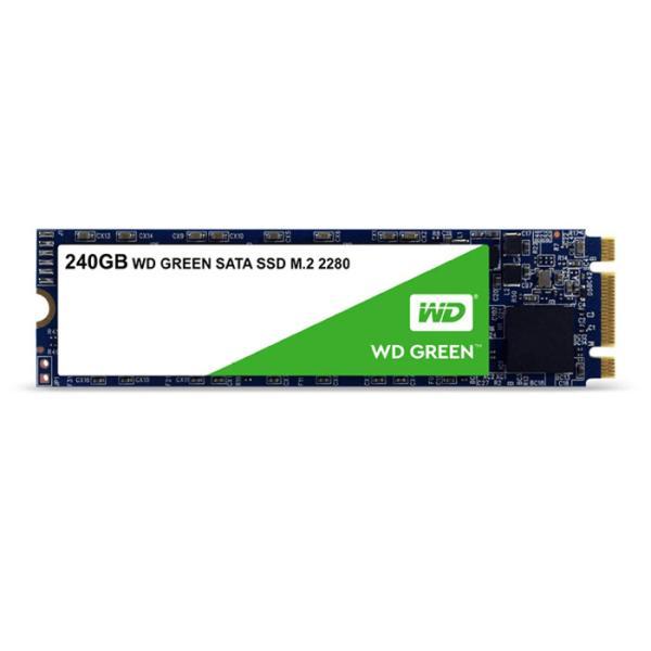 SSD WD GREEN 内蔵SSD M.2-2280 240GB SATA3.0 3年保証 ソリッドステートドライブ ウエスタンデジタル Western Digital WDC-WDS240G2G0B|konan