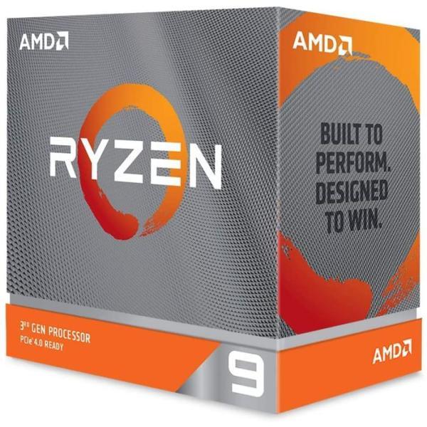 沖縄・離島配送不可 CPU デスクトップパソコン用 AMD Ryzen 9 3900XT BOX  without cooler AMD 100-100000277WOF