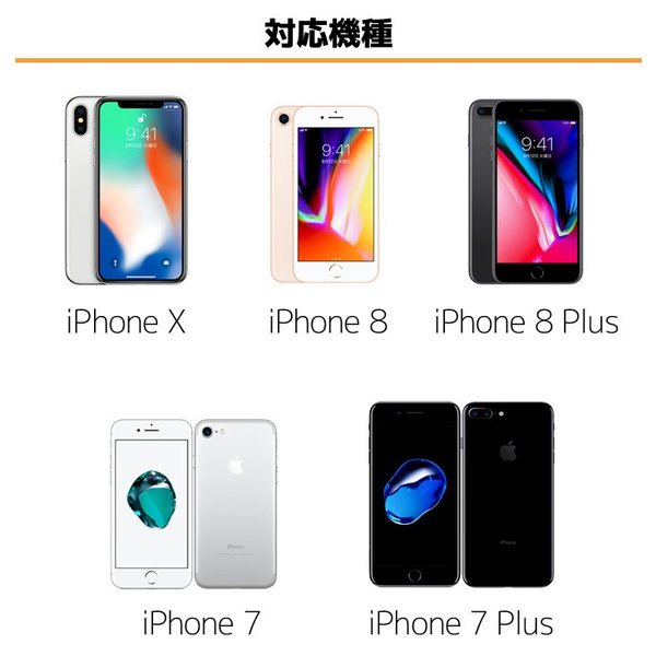 Lightningケーブル MFi認証 ライトニング iPhoneX iPhone8 iPhone8Plus iPhone7 iPad アイフォン 充電 通信 アップル認証 選べる3サイズ/3カラー|konan|03