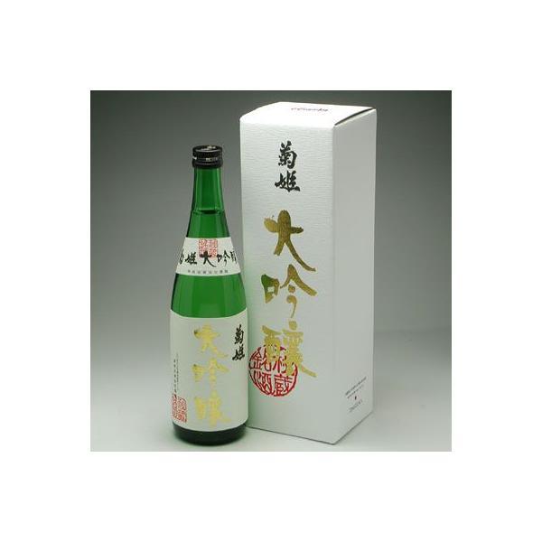 石川県の地酒 菊姫 大吟醸 720ml|konchikitai