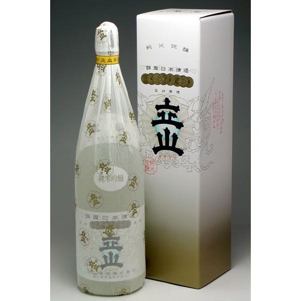 立山酒造 銀嶺立山 純米吟醸 1800ml|konchikitai