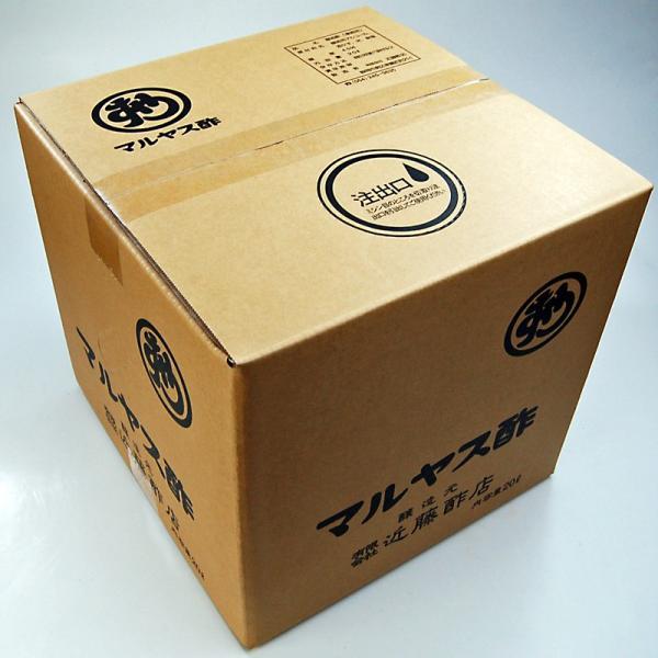 マルヤス近藤酢店 業務用 醸造酢 20リットル キュービテナー入り|kondousuten
