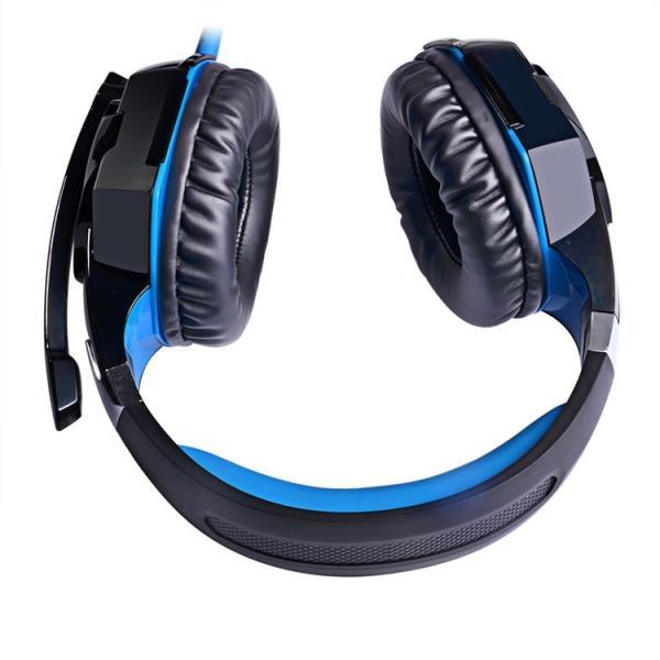 ゲーミングヘッドセット PS4 Xbox One PC  ヘッドホン ヘッドフォン マイク付き G2000 ブルー|konkonya27|12