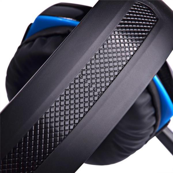 ゲーミングヘッドセット PS4 Xbox One PC  ヘッドホン ヘッドフォン マイク付き G2000 ブルー|konkonya27|08