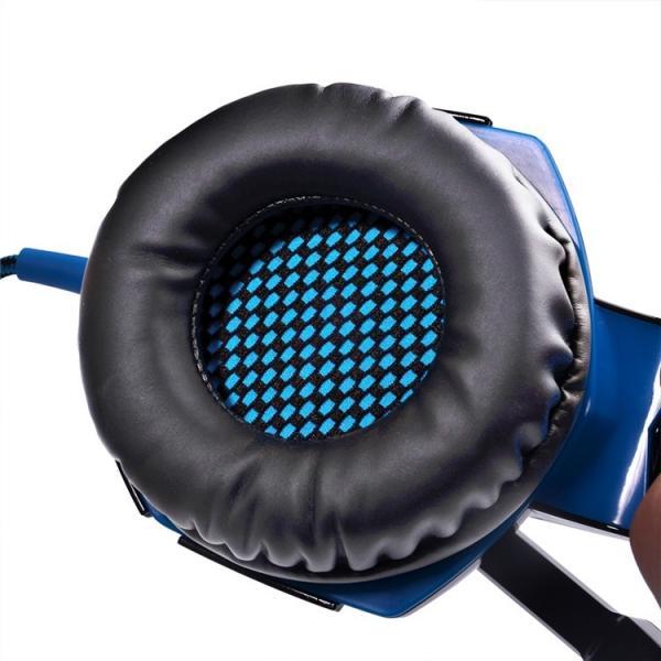 ゲーミングヘッドセット PS4 Xbox One PC  ヘッドホン ヘッドフォン マイク付き G2000 ブルー|konkonya27|10
