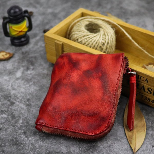 小銭入れ コインケース メンズ 財布 本革 L字ファスナー レザー 薄型|konkonya27|11