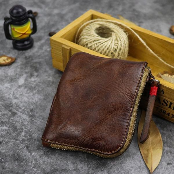 小銭入れ コインケース メンズ 財布 本革 L字ファスナー レザー 薄型|konkonya27|09