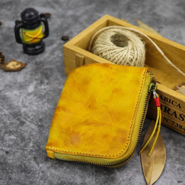 小銭入れ コインケース メンズ 財布 本革 L字ファスナー レザー 薄型|konkonya27|10
