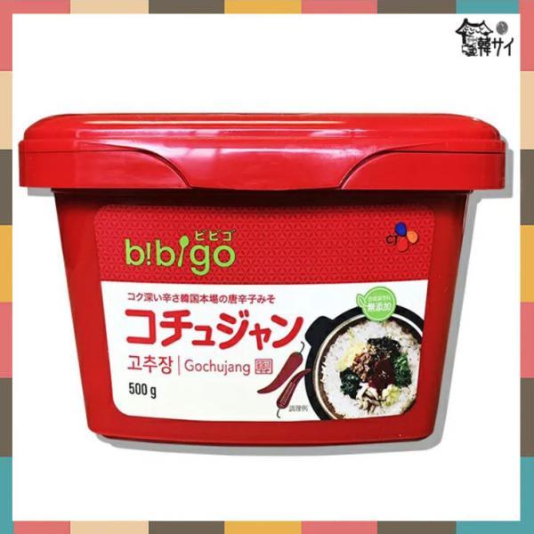 ビビゴ(ヘチャンドル)コチュジャン 500g ★韓国フードフェア(韓国料理)*韓国食品*韓国調味料*味噌