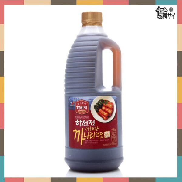 *韓国食品*キムチ材料★ハソンジョン カナリエキス 2.5Kg