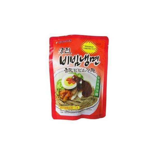 ★韓国食品*韓国冷麺★宮殿 ビビム冷麺 (麺、ソース セット) 220g