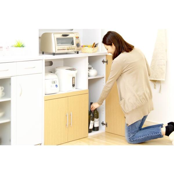 食器棚 ツートーン (パスタキッチンボード)(幅90cm×高さ180cmタイプ)|koreene|11