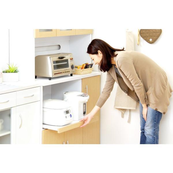 食器棚 ツートーン (パスタキッチンボード)(幅90cm×高さ180cmタイプ)|koreene|09